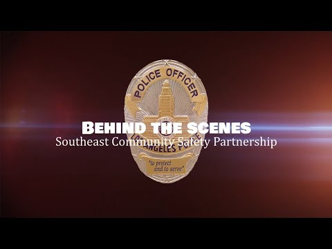 LAPD Behind the Scenes - Community Service Partnership