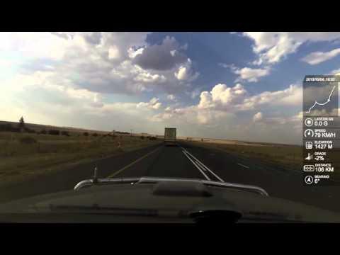 Vosburg to Pretoria   Time Lapse