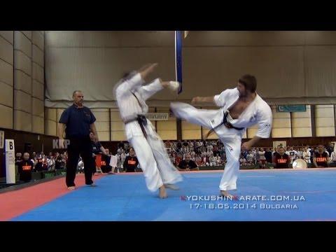 Highlight The 28th European Kyokushin Karate Championships. Bulgaria, 17-18.05.2014