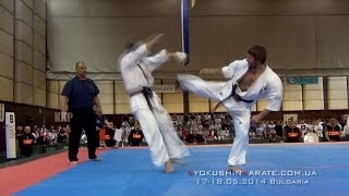 Clip - The 28th European Kyokushin Karate Championships. Bulgaria, 17-18.05.2014