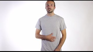 T-Shirt Video Review: Custom Gildan 100% Cotton T-Shirt in Grey by Coed Monkey