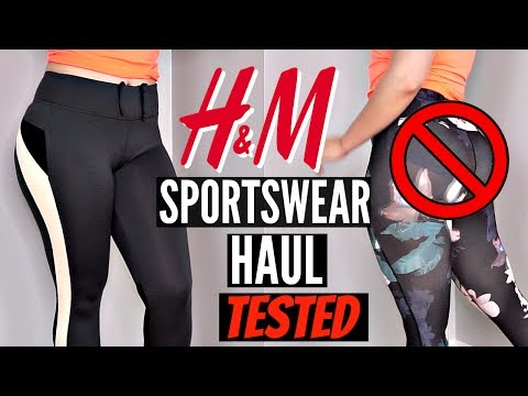 H&M Try On Haul | Workout Leggings 2017