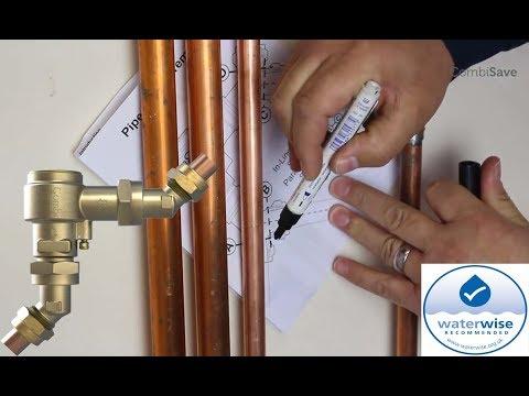 CombiSAVE Installation video - Combi Boiler Water & Energy Saving Valve