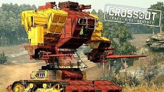 Crossout - Топ 5 Самых Лучших И Безбашенных Крафтов За Всю Историю Игры!
