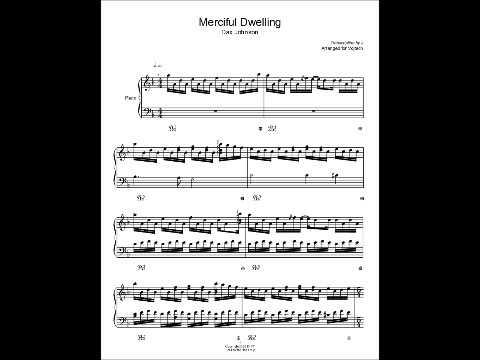 Merciful Dwelling Dax Johnson Sheet Music