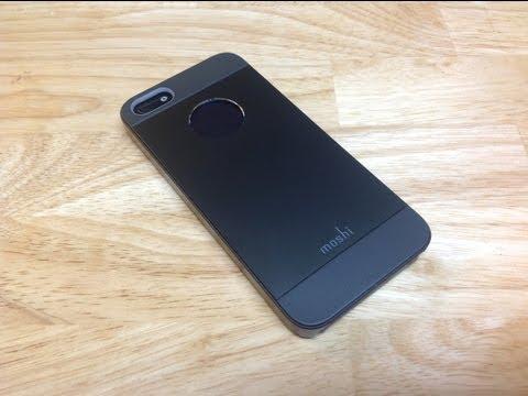 Estuche para el iPhone 5 iGlaze Armour y protector pantalla iVisor XT de la empresa Moshi