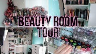 Rangement makeup + Équipement studio | BEAUTY ROOM TOUR