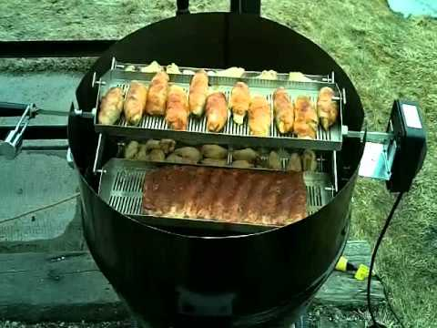 ribolator first cook on the weber youtube. Black Bedroom Furniture Sets. Home Design Ideas