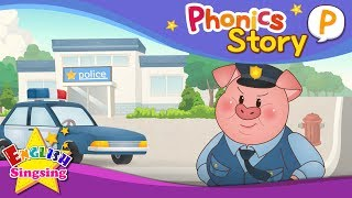 Phonics Story P - English Story - Educational video for Kids