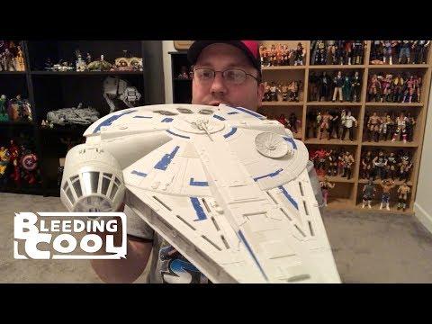 Hasbro's Solo: A Star Wars Story Millennium Falcon (Kessel Run) - Bleeding Cool