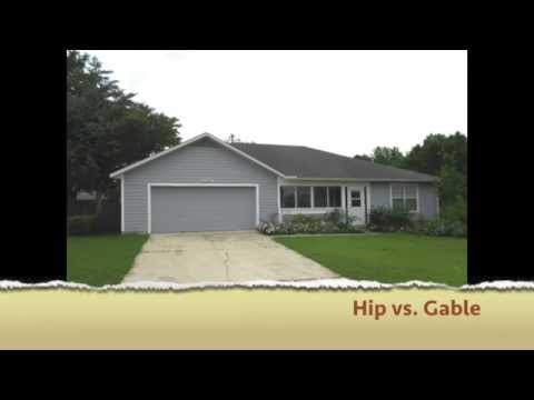 What Is The Difference Between A Hip And A Gable Roof Youtube