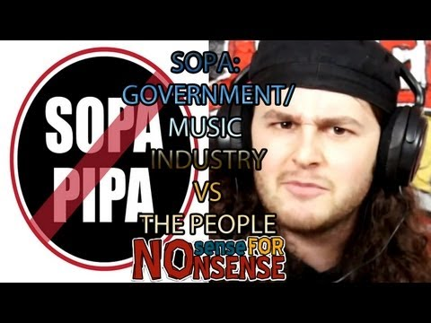 SOPA: GOVERNMENT/MUSIC INDUSTRY VS THE PEOPLE Mp3