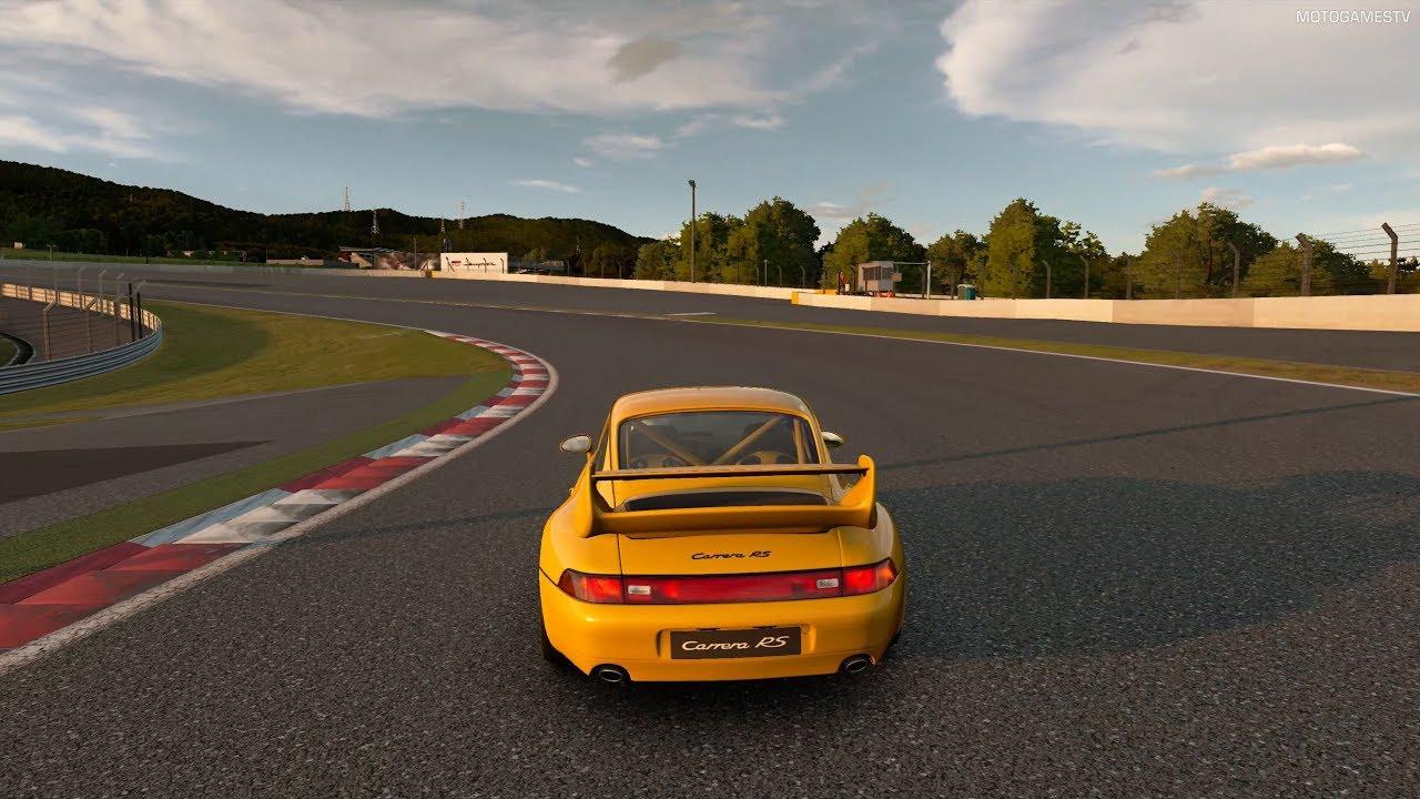 Gran Turismo Sport Porsche 911 Carrera Rs Club Sport 993 95 Gameplay 4k Ps4 Pro Youtube