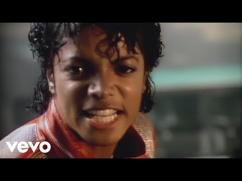 Michael Jackson - Beat It  Official Video  Poster