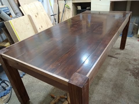 Farmhouse Kitchen Table out of PLYWOOD