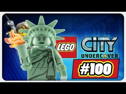 Let's Play: Lego City Undercover | Folge #100 - Lady Liberty Island 100%