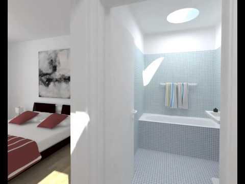 Virtueller Rundgang - Schöne, helle und moderne Wohnung - YouTube