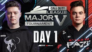 Call Of Duty League 2021 Season | Stage V Major Tournament | Day 1