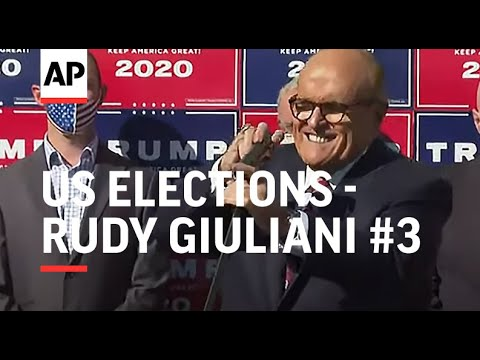 Rudy Giuliani: Lawsuits will be brought on Monday