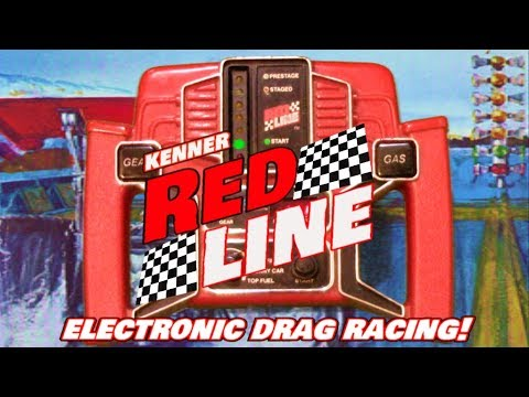 Kenner S Red Line Electronic Drag Racing