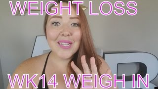 Weight Loss Journey Weigh In: Wk 14 & Weight Loss Support Group