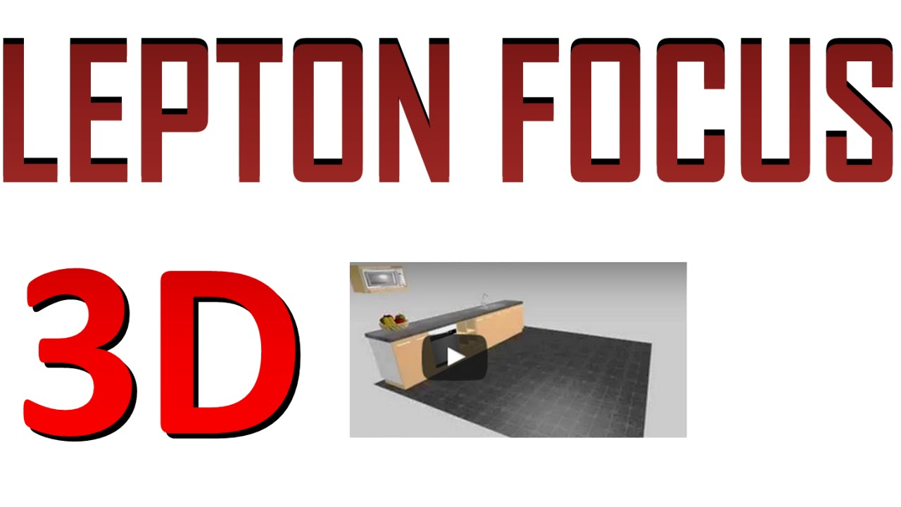 Software lepton dise o de muebles focus 3d gratis doovi for Diseno de muebles software