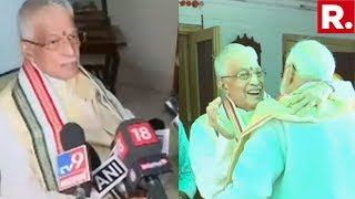 Murli Manohar Joshi Speaks To The Media After Meeting PM Modi