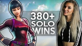 Fortnite Battle Royale - NEW LOCATION & RIFLE! 380 SOLO WINS. ROAD TO 400 WINS! TOP TIER PLAYER.