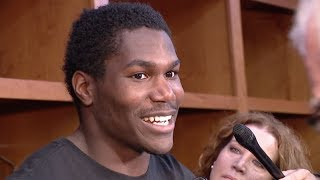 Kerryon Johnson on rebounding from last week's tie