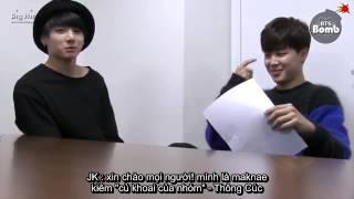 [FAKESUB][BANGTAN BOMB] MC Chim phỏng vấn Cúc khoai to