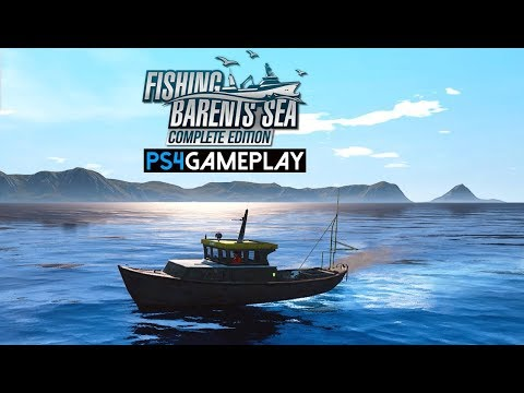 Fishing: Barents Sea Complete Edition Gameplay (PS4 HD)