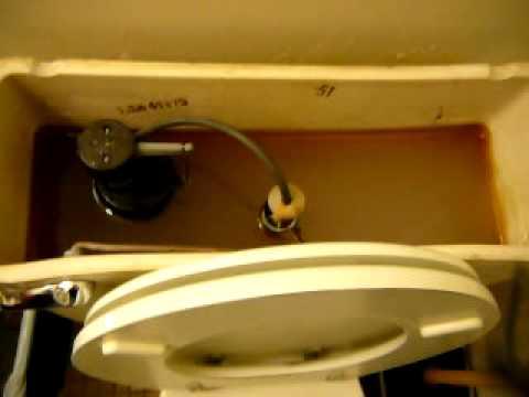 older mansfield toilet flush