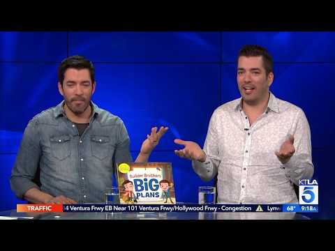 Jonathan Scott & Drew Scott on their New Children's Book