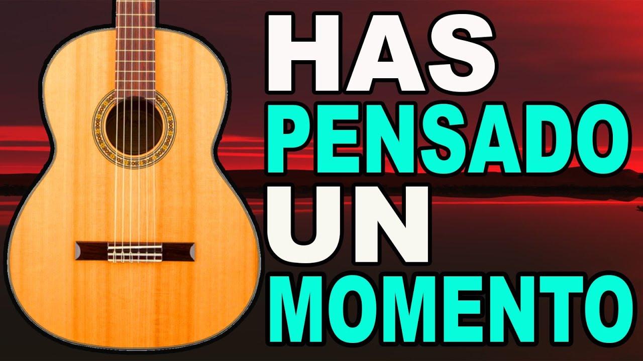 🎸 HAS PENSADO UN MOMENTO 🎸 HERMOSA ALABANZA CON ACORDES SENCILLOS 🎸 Mi Guitarra Cristiana