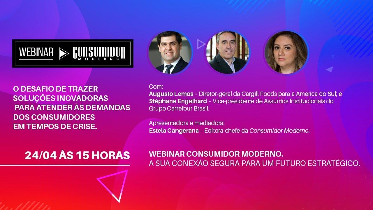 O desafio de soluções inovadoras | WEBINAR CM: Carrefour Brasil e Cargill