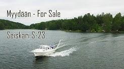 Myydään - For sale - Seiskari S-23 matkavene