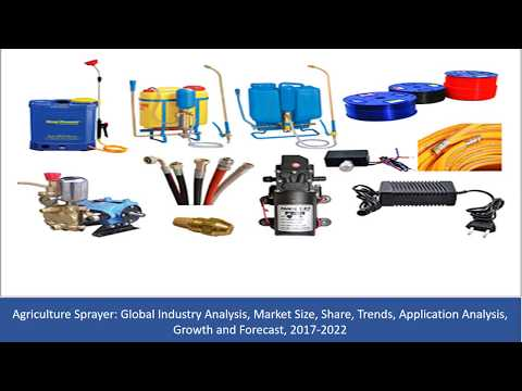 Agriculture Sprayer Market Size, Share, Trends,  Growth and Forecast, 2017 To 2022