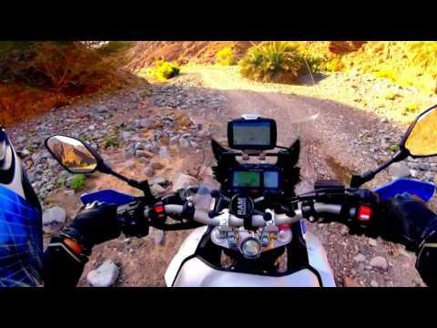 Return to Wadi Shawka UAE on Yamaha Super Tenere 15 04 2017
