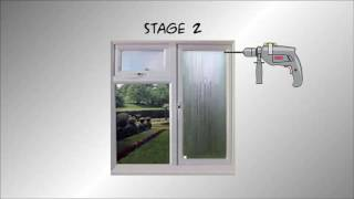 How to remove condensation mist and fog from double glazed sealed units / windows