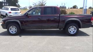 2004 Dodge Dakota Eureka, Redding, Humboldt County, Ukiah, North Coast, CA 4S621803L