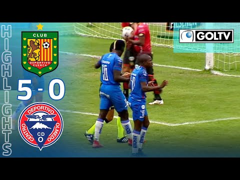 Dep. Cuenca Olmedo Goals And Highlights