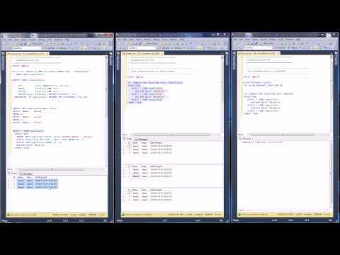 MSSQL - Understanding Isolation Level By Example (Snapshot)
