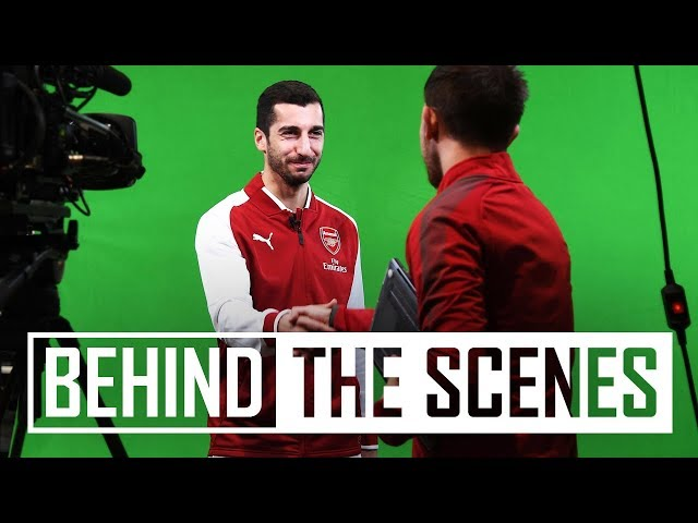 Henrikh Mkhitaryan Signs For Arsenal Behind The Scenes