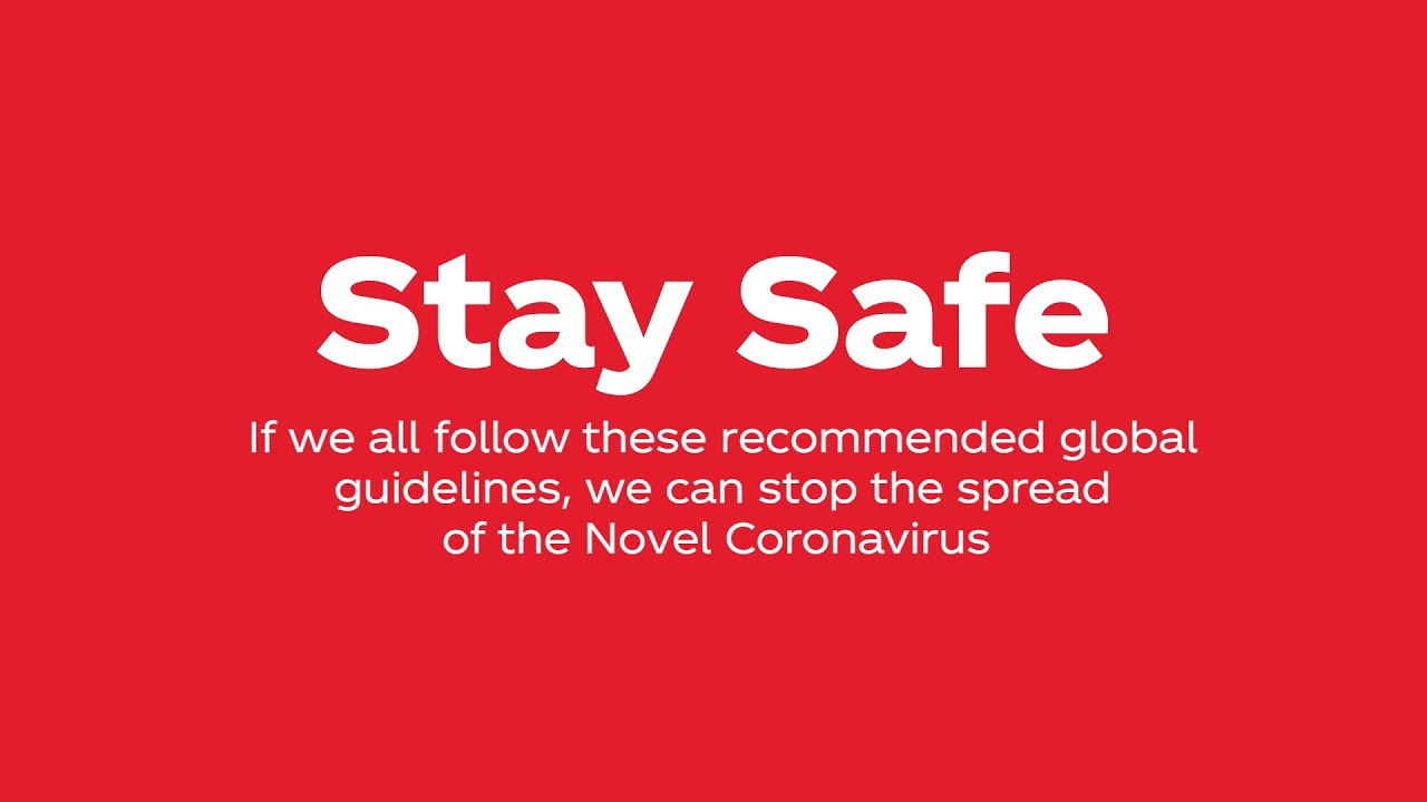 Stay home #StaySafe #COVID19