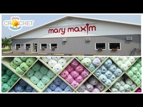 Mary Maxim Big Yarn Store Tour
