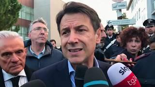 Ancona, punto stampa del Presidente Conte