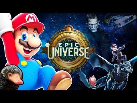 Universal's Epic Universe [ News, Lands, Worlds ] * New * Orlando Theme Park