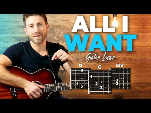 All I Want Guitar Tutorial (Kodaline) Easy Chords Guitar Lesson from YouTube · Duration:  4 minutes