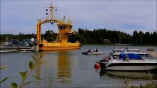 Бесплатные паромы в Финляндии / Free ferry connection Finland(Сеть бесплатных паромов в Финляндии: как это работает? 0:05 - Бесплатное паромное сообщение в Финляндии между..., 2015-08-02T21:59:32.000Z)