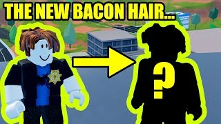 THIS is the NEW BACON HAIR... | Roblox Jailbreak